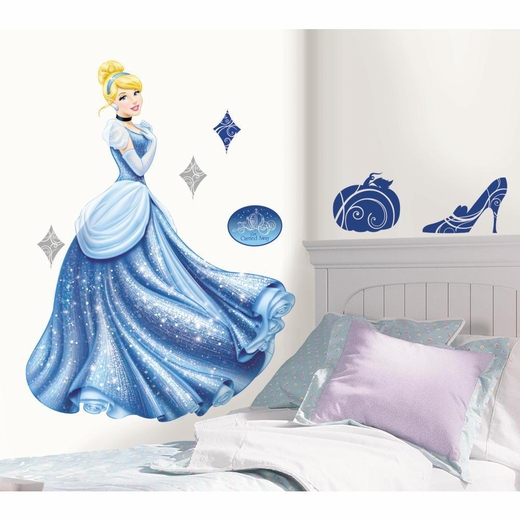 Disney Princess-Cinderella Glamour Giant Decal