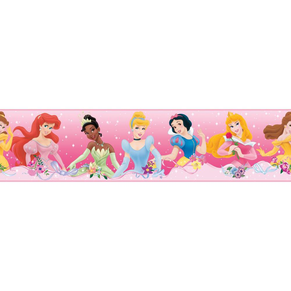 Disney Princess-Dream from the Heart Pink Border