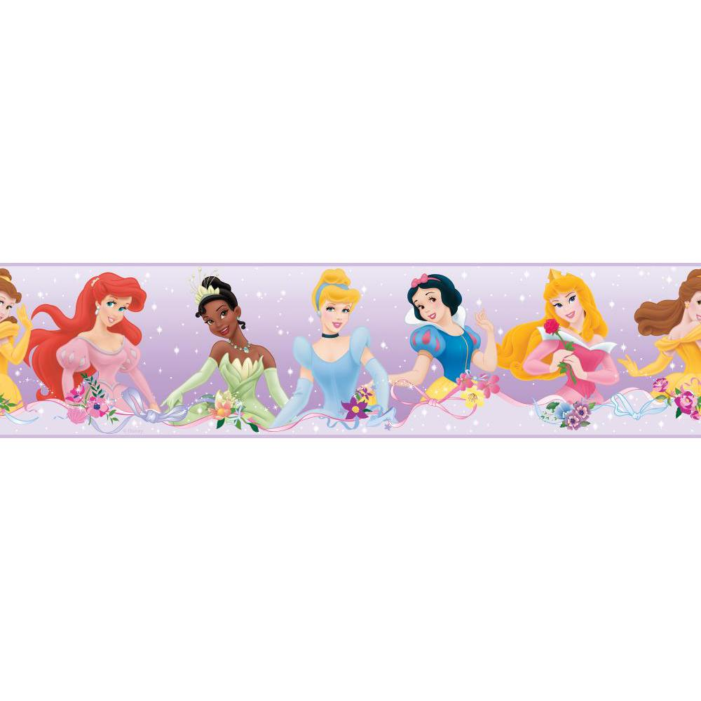 Disney Princess-Dream from the Heart Purple Border