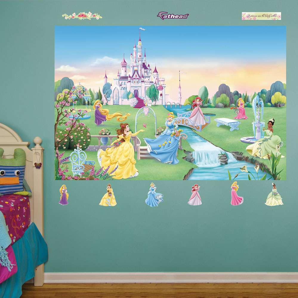 Disney Princess Mural REALBIG Wall Decal