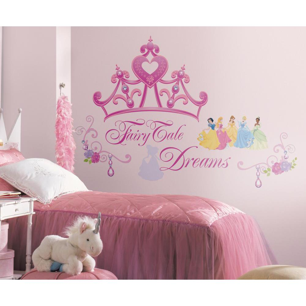 Disney Princess-Princess Crown Giant Decal