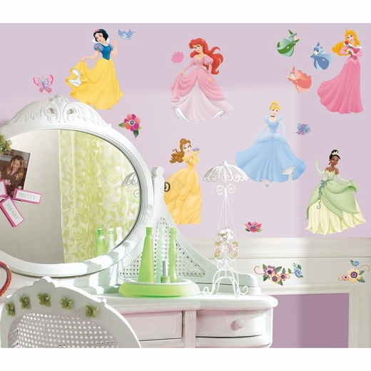 Disney Princess-Princess Peel And Stick Wall Decal