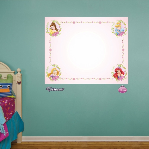 Disney Princess White Board REALBIG Wall Decal