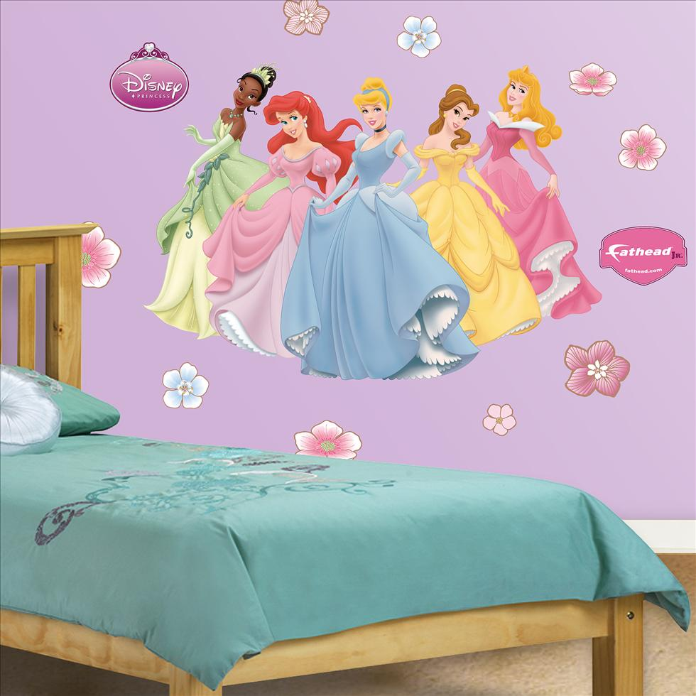 Disney Princesses-Fathead Junior
