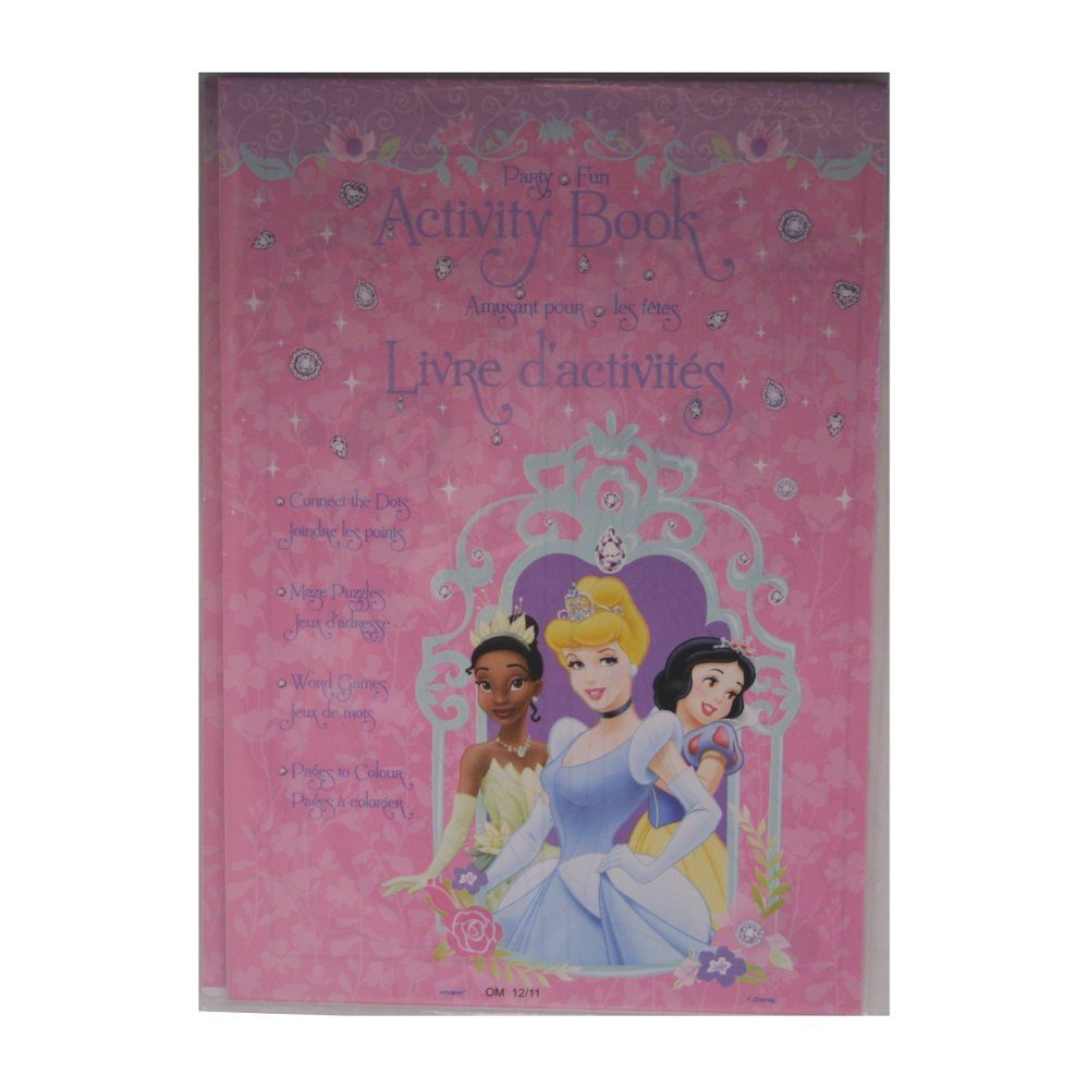Disney's Princess Activity Book
