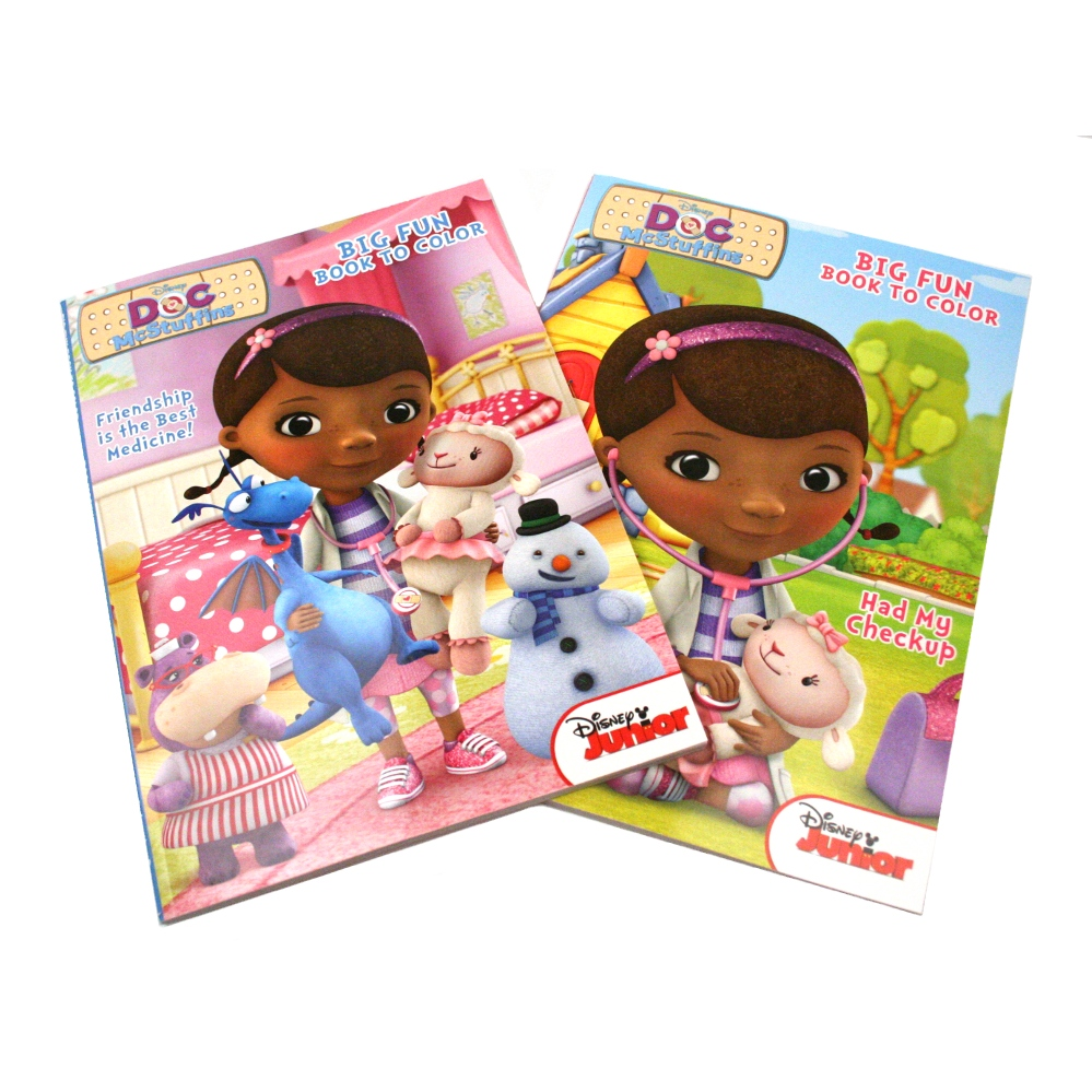 mcstuffins big fun coloring book