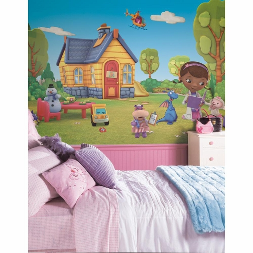 Doc McStuffins Chair Rail