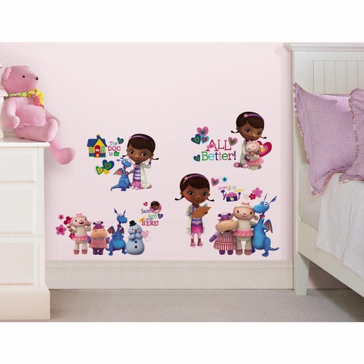 Doc McStuffins Peel And Stick Decal