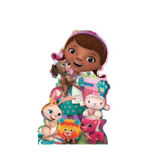 Doc McStuffins Pet Vet Disney Junior Cardboard Cutout