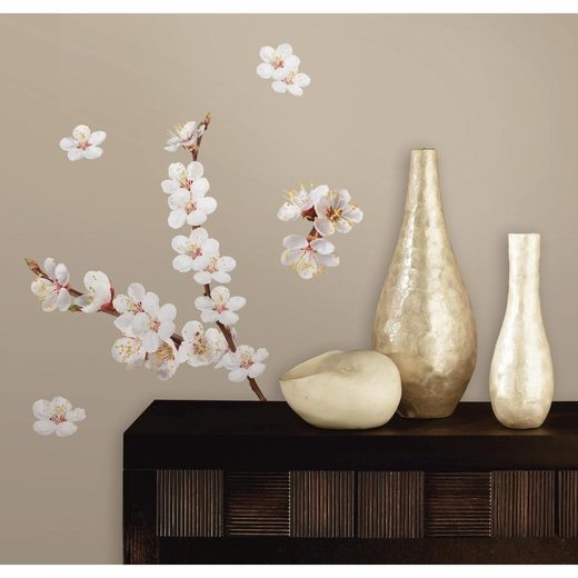 Cherry Blossom Branch Peel And Stick Decal