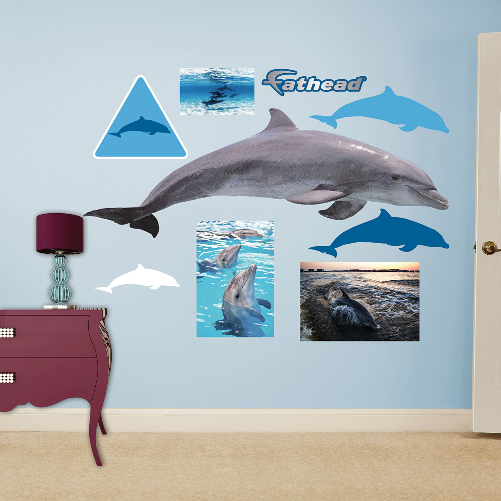 Dolphin REALBIG Wall Decal