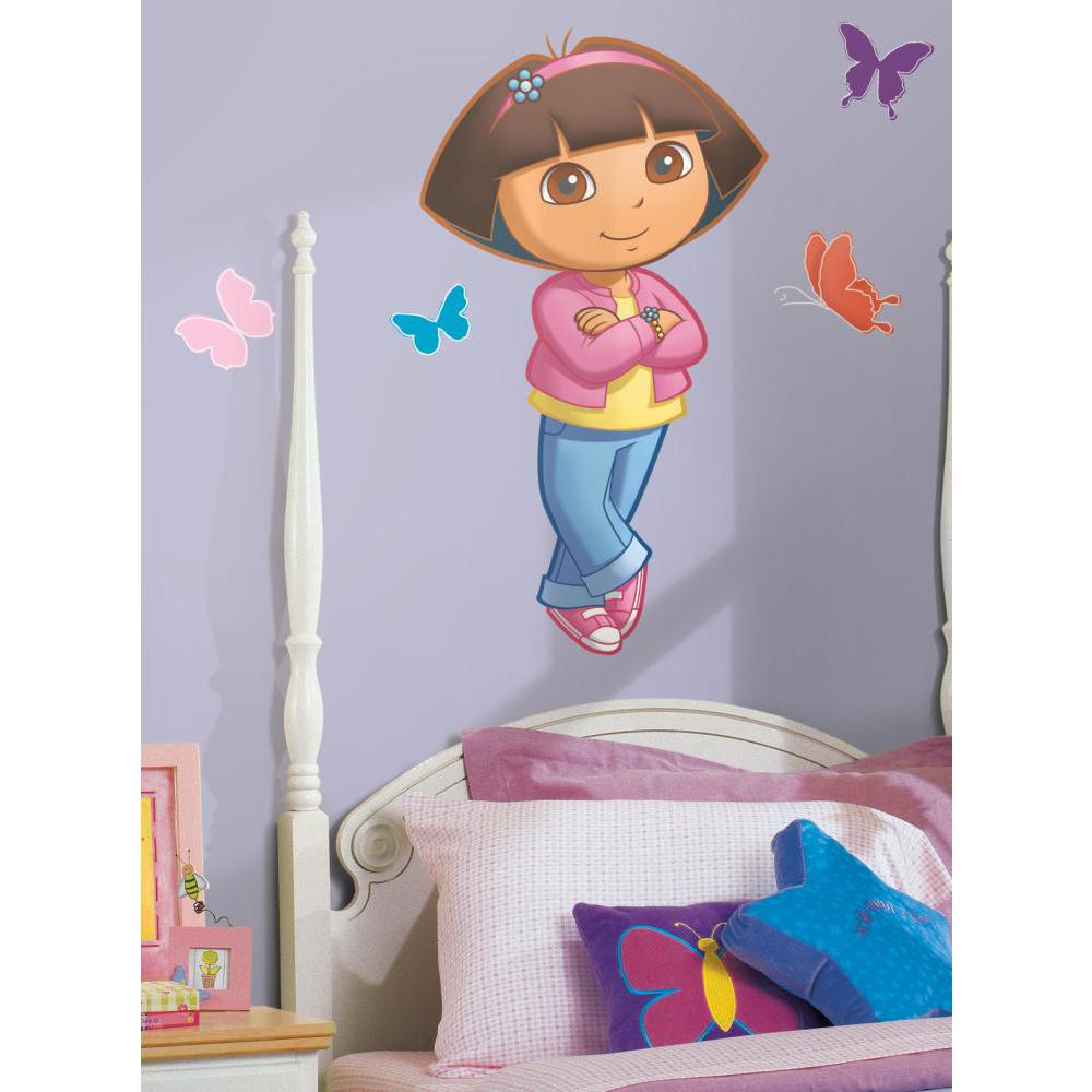 Dora Peel And Stick Giant Wall Decal