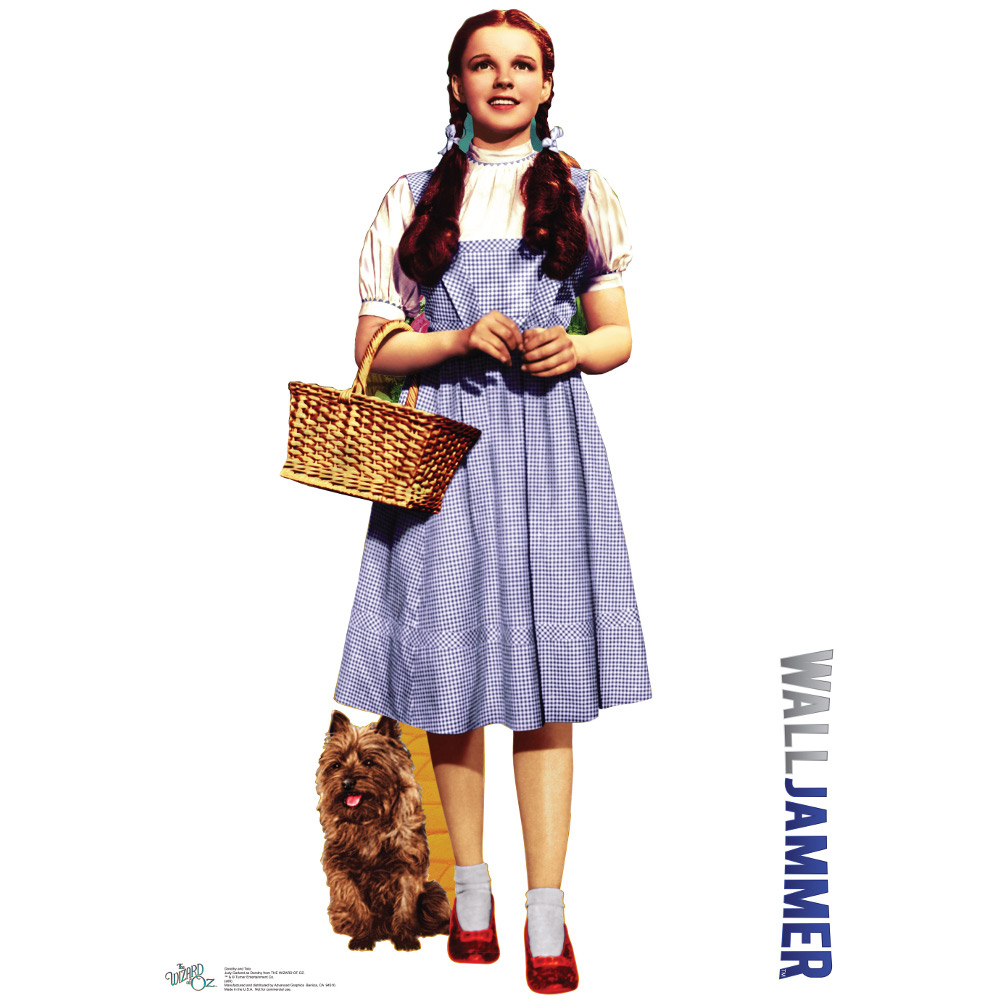 Dorothy And Toto - Wizard Of Oz Wall Decor