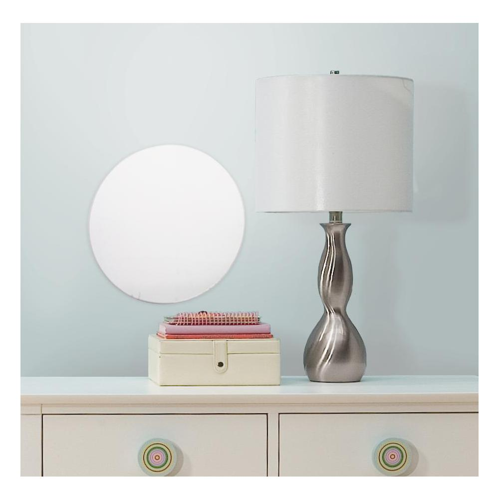 Dot-Circle Peel And Stick Mirror (Large)