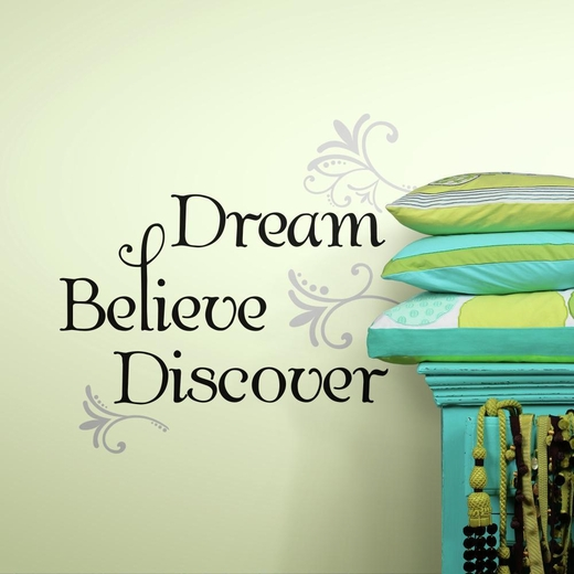 Dream Believe Discover Peel And Stick Decal