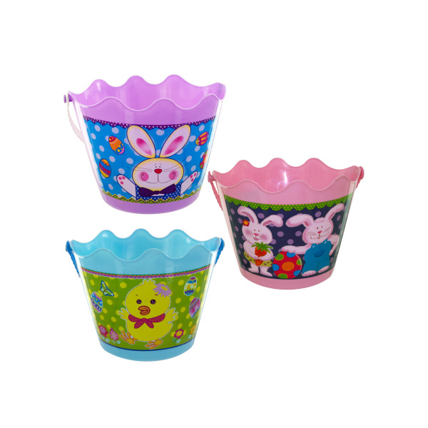 Easter Buckets With Handles