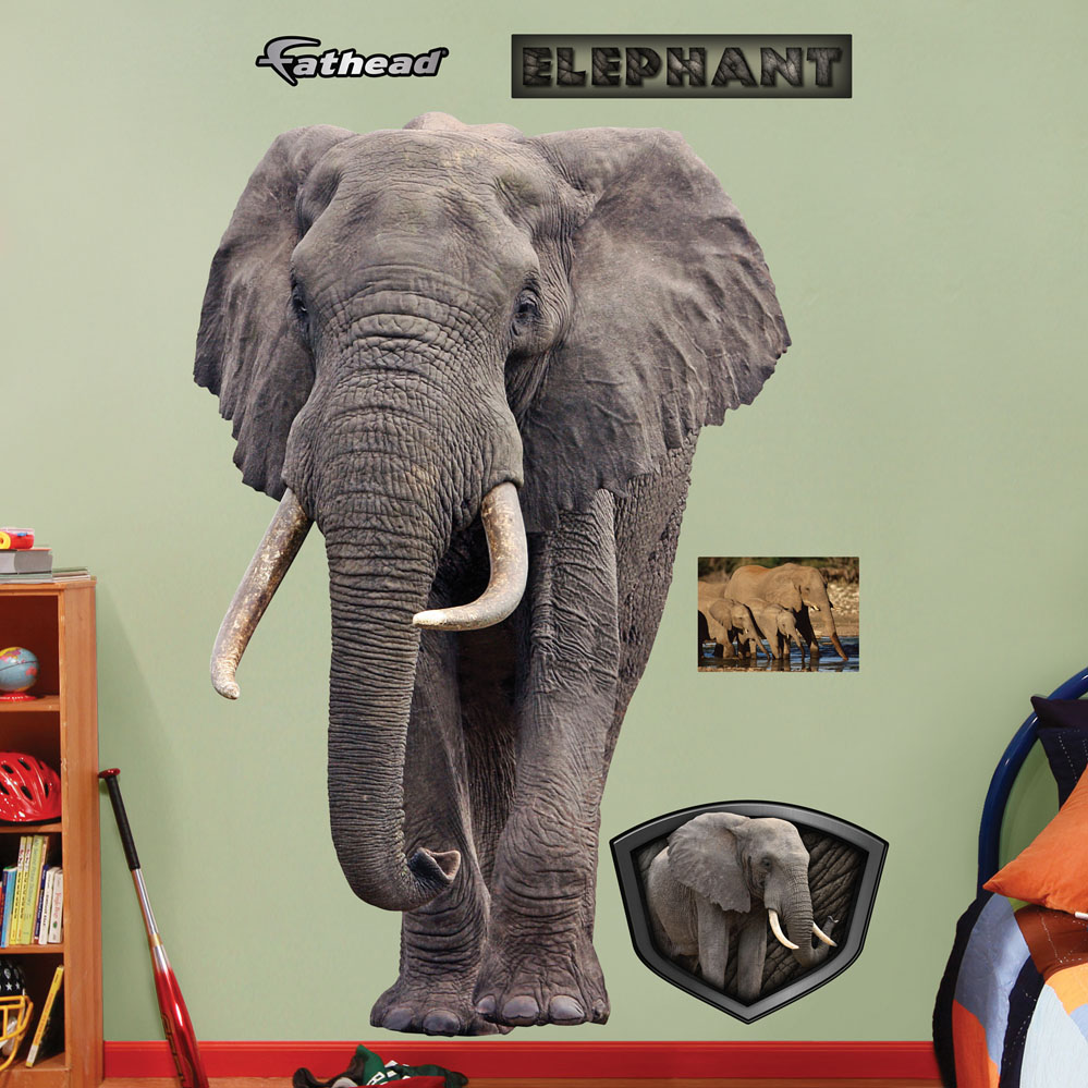 Elephant REALBIG Wall Decal