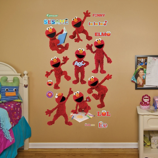 Elmo Collection REALBIG Wall Decal