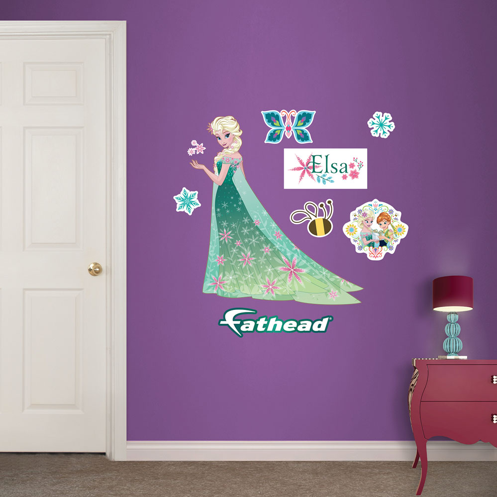 Elsa Frozen Fever Fathead Junior Wall Decals