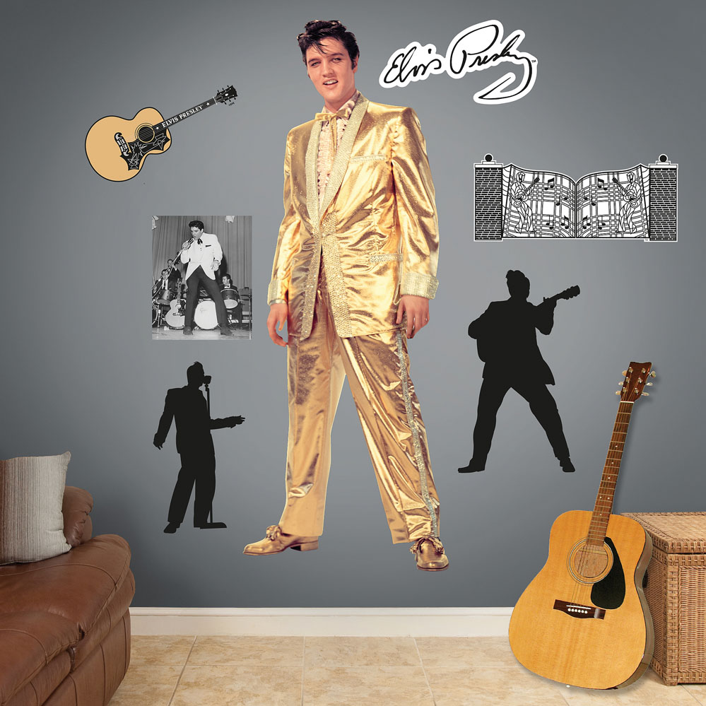 Elvis Presley � The Memphis Flash Wall Decal