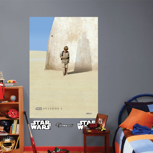 Episode I Movie Poster Mural REALBIG Wall Decal