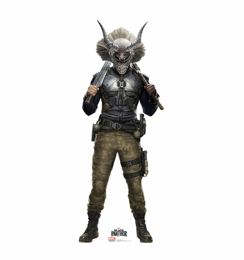 Erik Killmonger Black Panther Cardboard Cutout