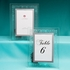 Etched Floral Design Frames