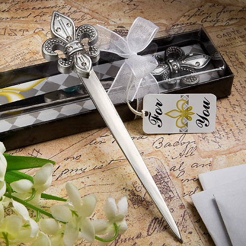 Exquisite Fleur Di Lis Letter Openers
