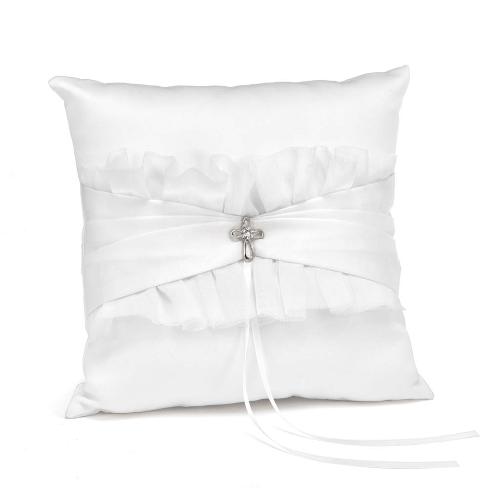 Faith And Love Ring Pillow