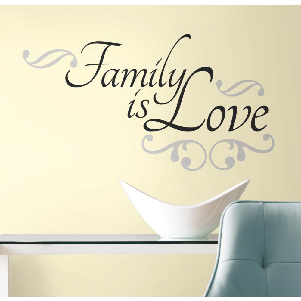 Family is Love Peel And Stick Decal