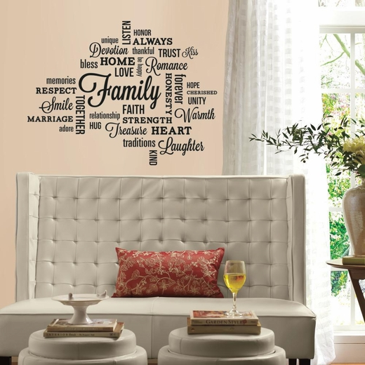 Family Quote Decal