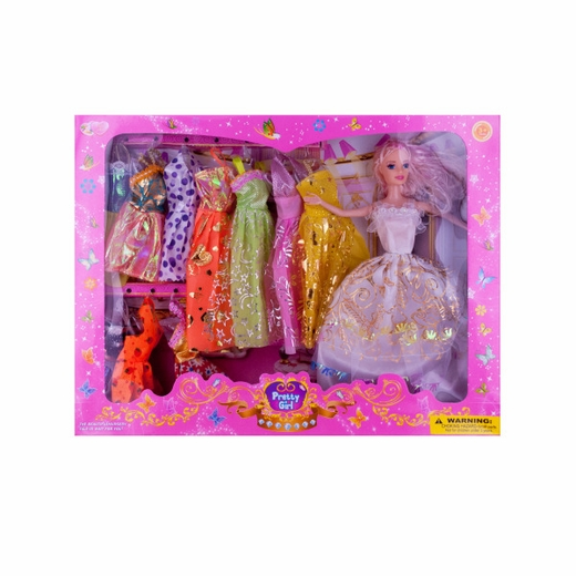 Fashion Doll With Dresses
