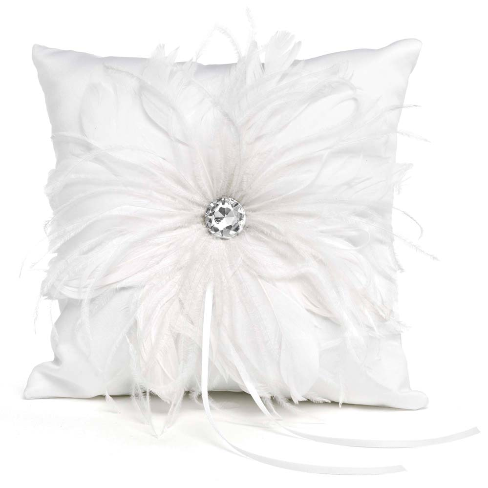 Feathered Flair Pillow