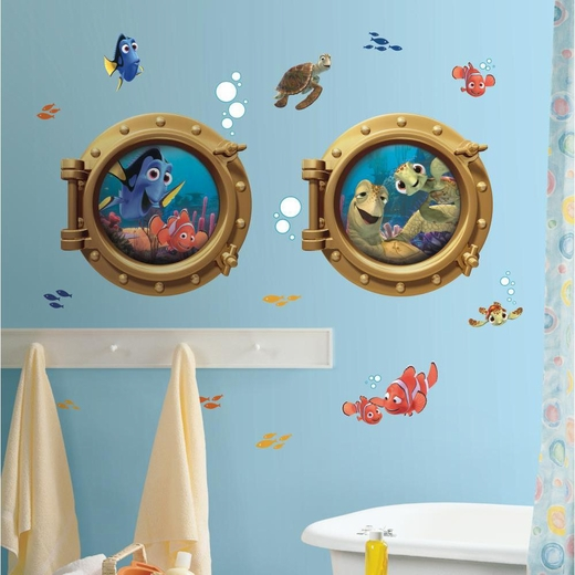 Finding Nemo Peel And Stick Giant Decal