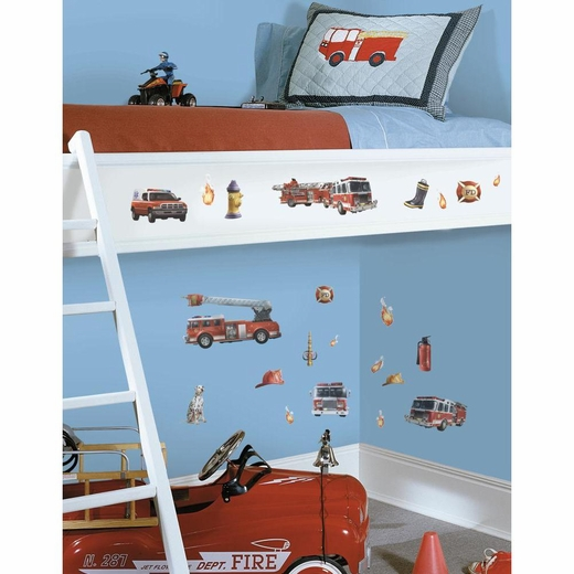 Fire Brigade Peel And Stick Decal