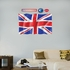 Flag of the United Kingdom REALBIG Wall Decal