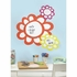 Flowers Dry Erase Peel And Stick Giant Decal
