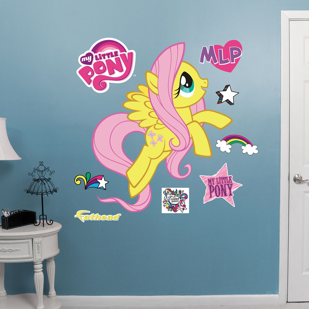 Fluttershy REALBIG Wall Decal