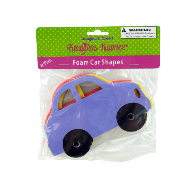 Foam Car Craft Shapes