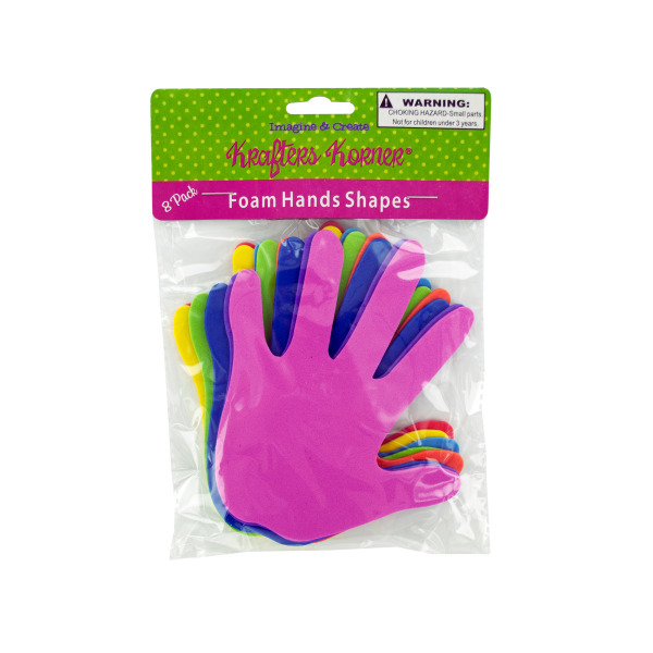 Foam Craft Hands