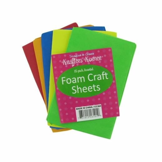 Foam craft sheets for Red craft foam sheets