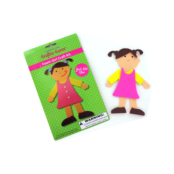 Foam Girl Craft Kit