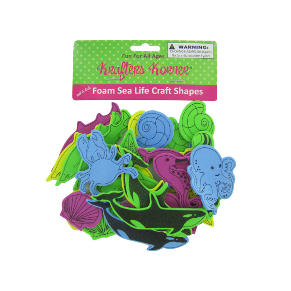 Foam Sea Life Craft Shapes