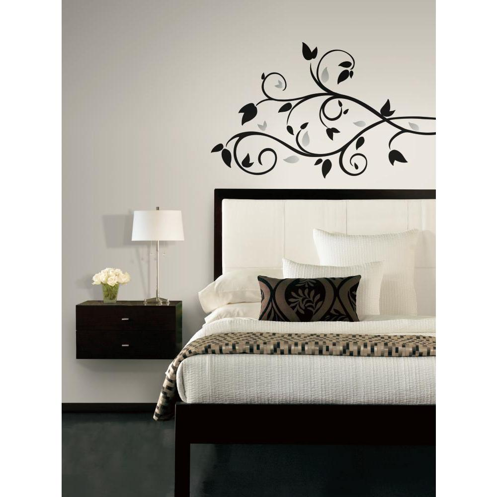 Foil Tree Branch Peel And Stick Wall Decal