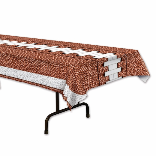 Football Plastic Table Cover - Rectangle