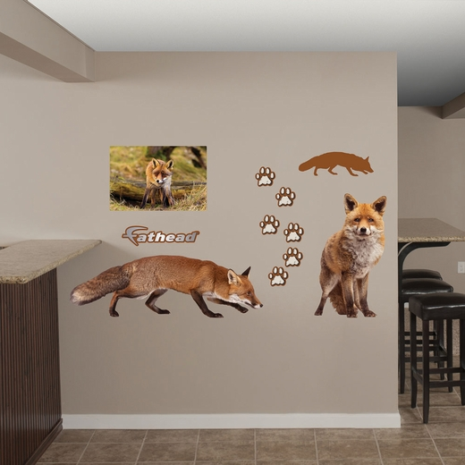 Fox REALBIG Wall Decal
