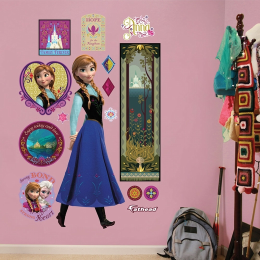 Frozen Anna REALBIG Wall Decal