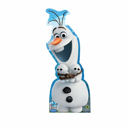 Frozen Fever Olaf And Snowgies Cardboard Cutout