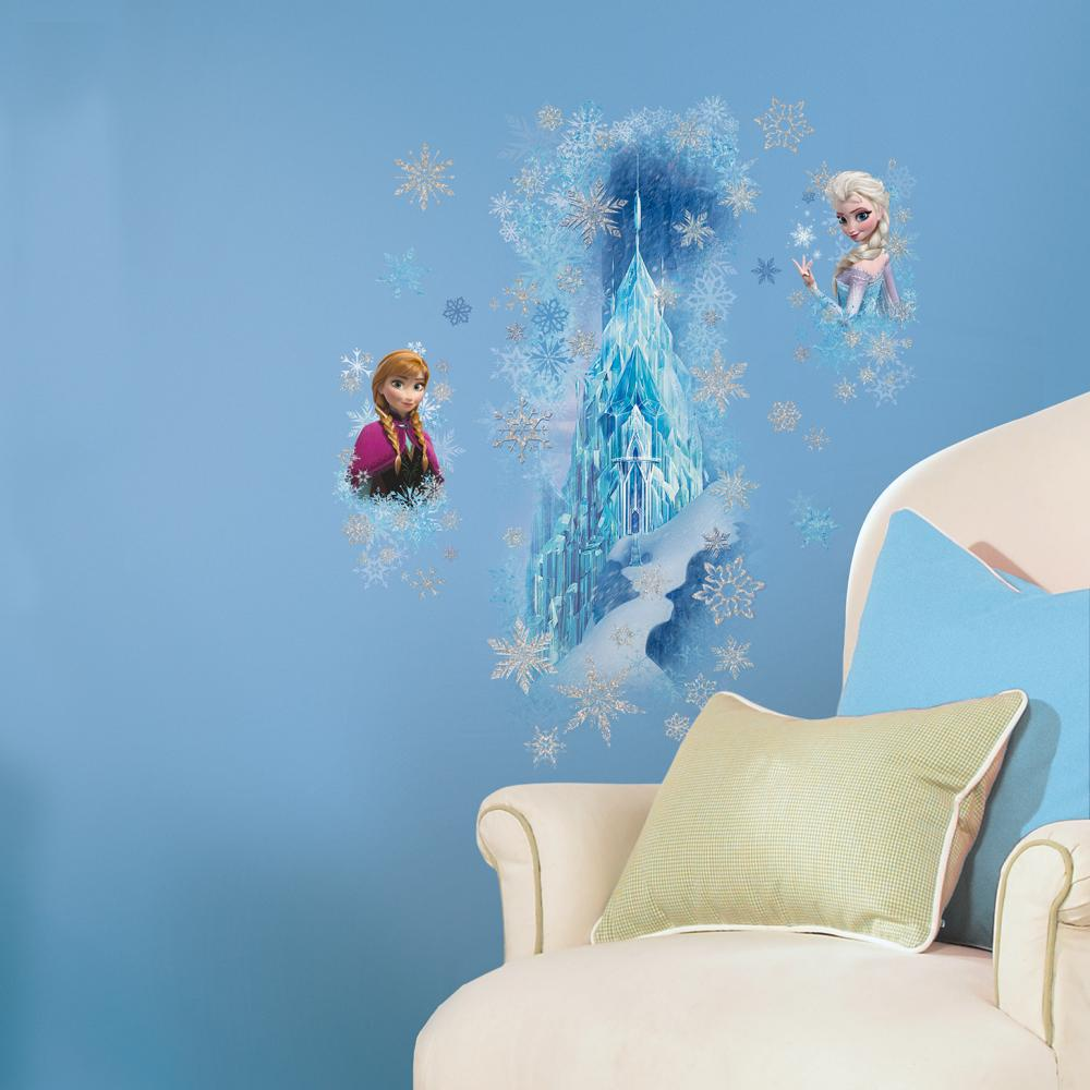 Frozen Ice Palace with Elsa and Anna