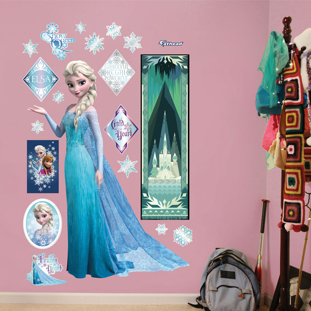 Frozen Snow Queen Elsa REALBIG Wall Decal